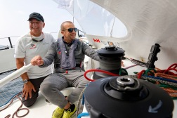 Grand Prix Valdys Multi50 - Ciela Village - Thierry Bouchard avec Olivier Panis