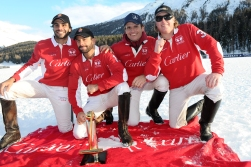 St Moritz Snow Polo World Cup 2018, Subsidiary final: Azerbaijan vs Badrutts Palace - Final: Cartier vs Maserati, 28/01/2018 - © www.imagesofpolo.com