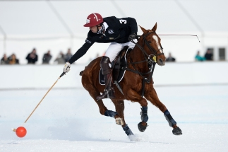 Snow Polo World Cup St. Moritz 2017, Day 2, 28/01/2017, Badrutt's Palace vs Perrier-Jouet and Cartier vs Maserati