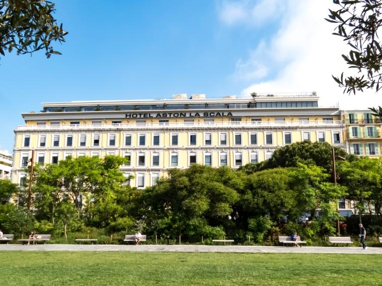 Hôtel Aston La Scala Nice - Photo Eric Barnabé 01