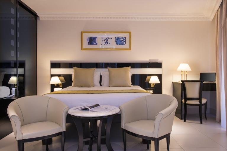 Chambre - Hôtel Aston La Scala Nice - Photo Francis Vauban 03