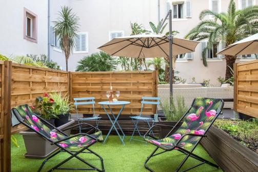 Chambre - Hôtel Beau Rivage Nice - Photo Francis Vauban 04