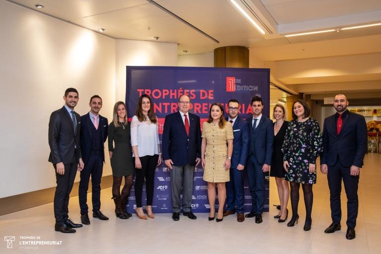 Jeune Chambre Economique de Monaco, Trophées de l'Entreprenariat 2018