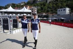 GCL of Monaco - Course walking - Christian Kukuk (GER), Philipp Weishaupt (GER) - Monaco, Port Hercule, 30 June 2018 - ph.Mario Grassia/GCL