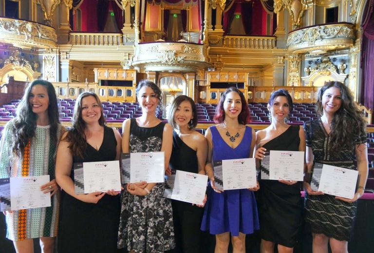 FIPAC-Monaco - Promotion 17_18 - Remise certificats - OpéradeMonteCarlo juin 2018