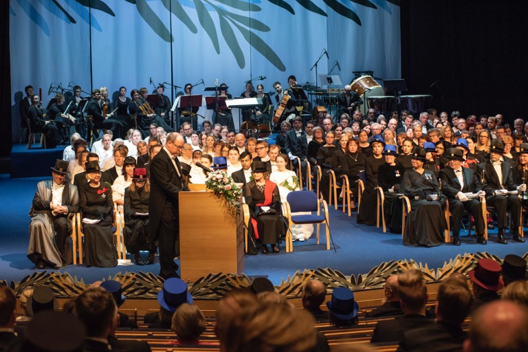 SAS Honoris Causa ULapland ©Reetta Breilin The University of Lapland 17.5.2019_28