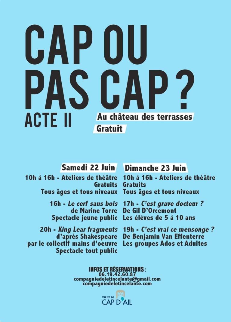 CAP OU PAS CAP 2019