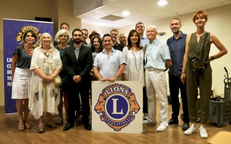 Communiqué de Presse - L'artiste SAB, marraine de la 10ème vente aux enchères caritative du LIONS Club Nice MassŽna.jpg