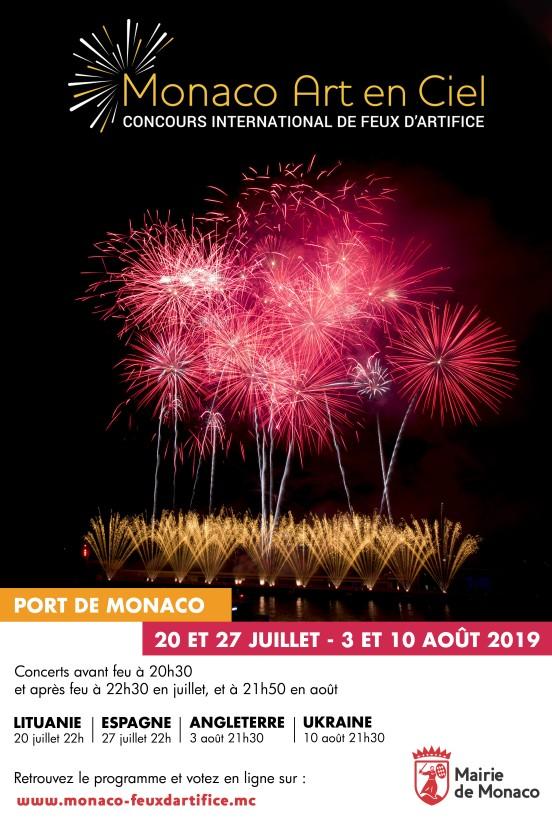Monaco Art en Ciel 2019