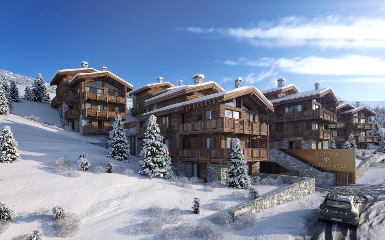 Ultima Courchevel Front View