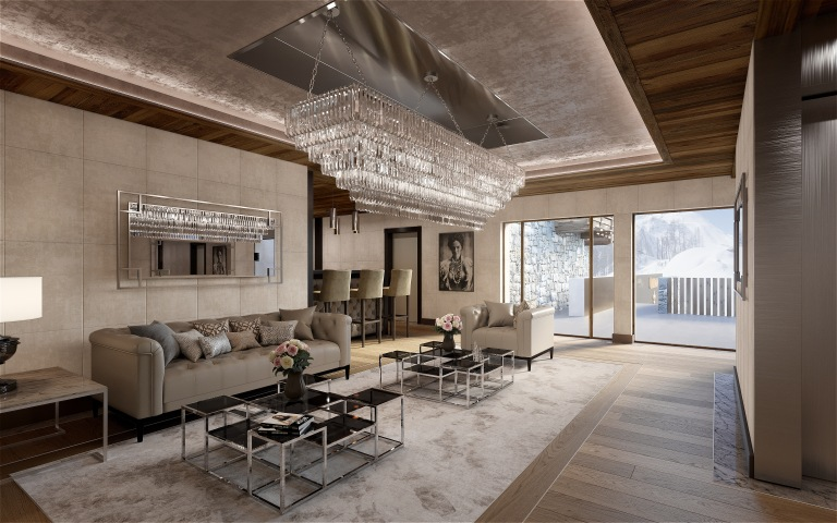 Ultima Courchevel Living Room 2